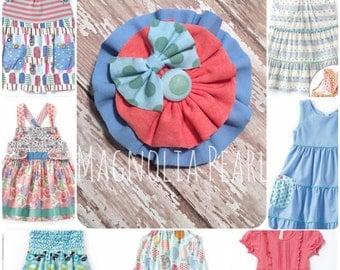 M2M Matilda Jane Clothing, Happy and Free, hair accessory, hair pretty, hair bow, headband, hair clip