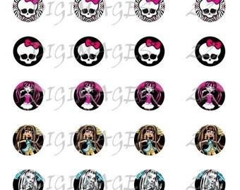 Monster High Bottle Cap Images