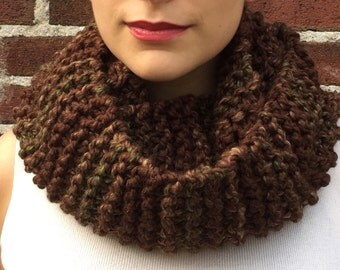 Earthy Brown Scarf