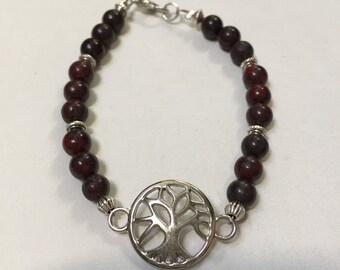 Tree of Life Beaded Bracelet