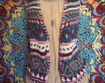 Colorful Knit Vest