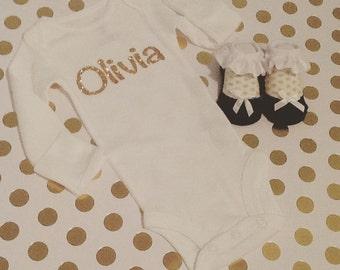 Custom Baby Onesie/bodysuit -name Personalization