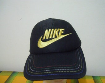 RARE Vintage NIKE Swoosh| Nike Big Logo | NIKE Tennis Chalenge Court | Nike Cycling | Nike Running | Cap Hat free size for all