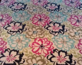 SALE***Floral Fleece Blanket