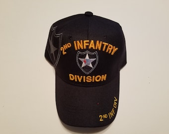 2nd INFANTRY DIVISION Cap, Army Accessories, Military Accessories, Army Caps