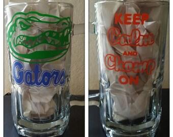Personalized Large Glass Mug