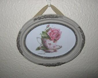 Oval Frame Photo