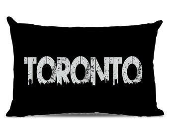 Toronto Pillow - Toronto Skyline Pillow - City Pillow - Urban Throw Pillow - Toronto Gift - City of Toronto
