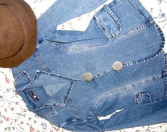 """Jeans-jacket """"La Strada"""", size 16 (US)"""
