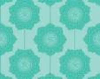 Riley Blake Designs The Cottage Garden Teal Wallpaper  by RBD Designers C 4222