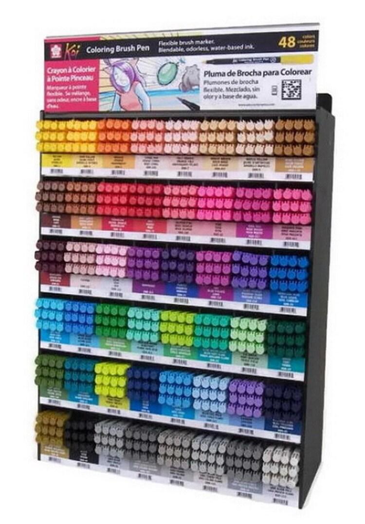 U PICK - 1 pc from 48 Colors - SAKURA Koi - Watercolor - Coloring ...