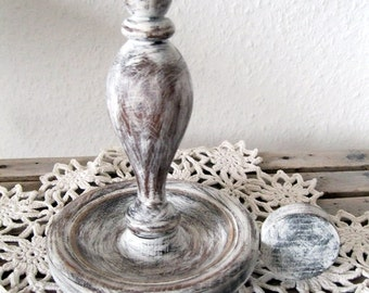 Shabby Vintage candlestick