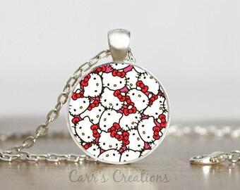 SALE!!! Hello Kitty pendant necklace