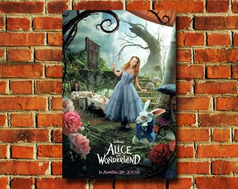 Disney Alice In Wonderland Movie Poster - #0723
