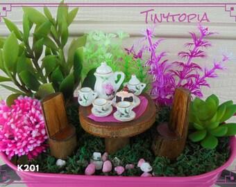 Fairy Tea Party Setting