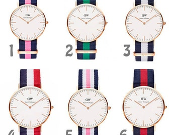 Watch strap fabric clone D Wellington several colors Watch more NEW colors