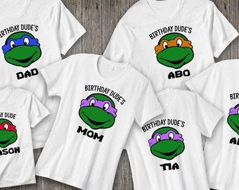 Ninja Turtles Shirts