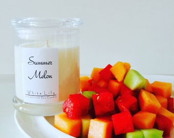 Summer Melon Soy Candle