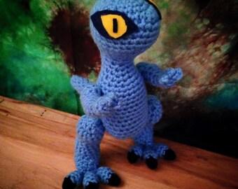 Jurassic World Amigurumi : Blue jurassic world Etsy