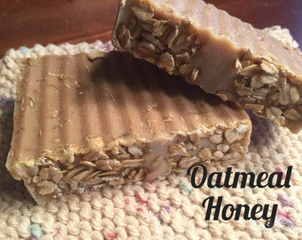 Honey & Oatmeal Goat Milk Soap