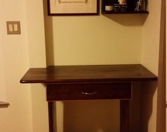 Build in Desk with a Drawer