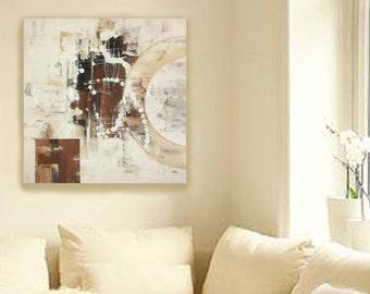 Original Aqryl, abstrakte Malerei, bildende Kunst, Kunst, minimalistisch