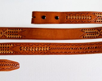 Belt Strap: Using an existing belt, correct measurement begins from the place where the buckle connects to the belt to the current hole that you use. Please DO NOT measure the length from end to end. You will not get the correct size that way.