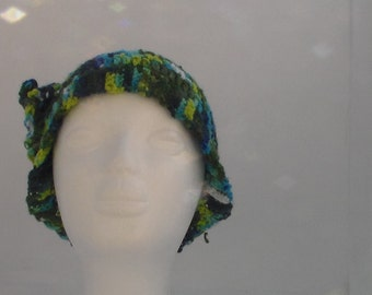 Crochet Ladies Hat