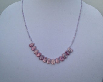 Teardrop Agate Necklace