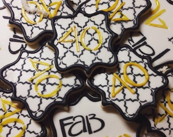 Fabulous at 40 Birthday Cookies