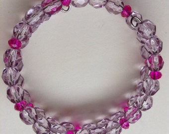Purple bracelet tween size