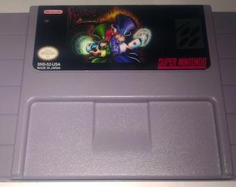 Nightmare Busters SNES (NTSC-US)