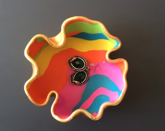 Polymer Clay Jewelry Bowl