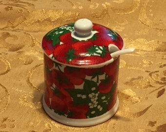 Porcelain Jelly jar