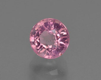 Round Faceted Genuine (Natural) Bright Pink Tourmaline (Rubellite) 2mm to 3.5mm.  811-718