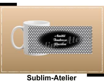 Mug, cup coffee or tea friendship tenderness Passion