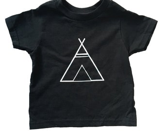 Teepee Onesie and T-Shirt