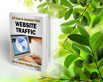 DIY How to Increase Your Website Traffic : Tips to Grow Website Traffic Volume 1