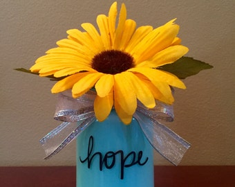 Hope Upcycled Jar