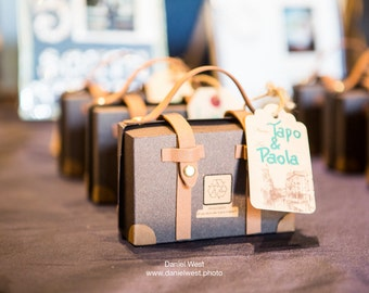 Travel Theme Suitcase Favours