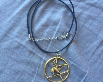 Mockingjay Hunger Games Inspired Charm Necklace