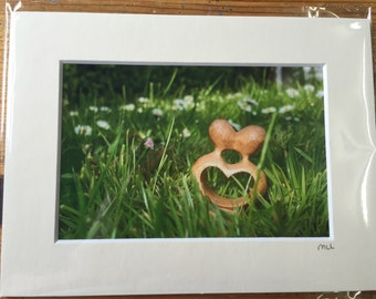 Local Photo of Love in a Mounted Frame