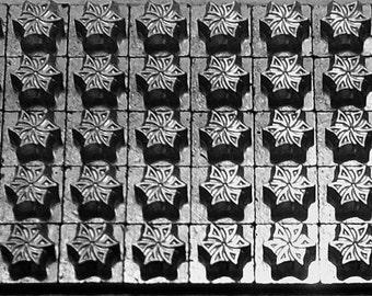 12 point Printer's Ornaments / Borders / Dingbats [4] Letterpress Printing Metal Type