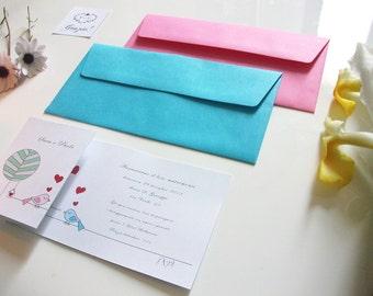 25 Wedding invitation. 25 wedding suite. 25 wedding invitations. 25 handmade Invitations.