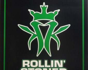 Kottonmouth Kings 25x36 Black Rollin Stoned Promo Music Poster