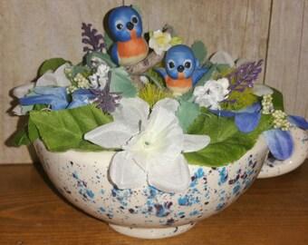 Bluebird Mug Decor
