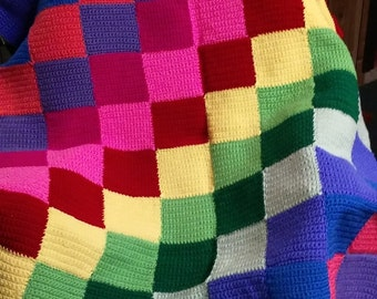 Quilted Toddler Sweater/Hat and Blanket