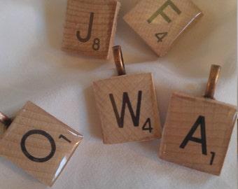 Scrabble Tile Initials