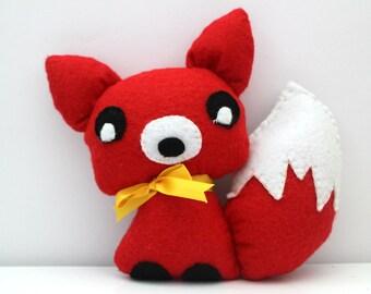 Felt Fox Plushie