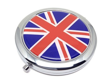 Unionjack Pocket mirror makeup mirror double mirror UK